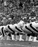 Terry Bradshaw. Pittsburgh Steelers QB Terry Bradshaw. (12) (Image taken from black and white negative Royalty Free Stock Image