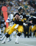 Terry Bradshaw. Pittsburgh Steelers QB Terry Bradshaw.  (image taken from color slide Stock Image