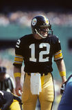 Terry Bradshaw. Pittsburgh Steelers QB Terry Bradshaw.  (image taken from color slide Royalty Free Stock Photo