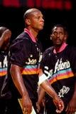 Terry Cummings, San Antonio Spurs Immagine Stock Libera da Diritti