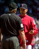 Terry Francona, Boston Red Sox Royalty Free Stock Images