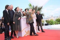 Terry Gilliam, Adam Driver, Jonathan Pryce. Olga Kurylenko, Jordi Molla, Stellan Skarsgard,  attend `The Man Who Killed Don Quixote` Photocall during the 71st Stock Image