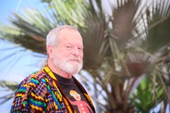 Terry Gilliam attends `The Man Who Killed Don Quixote`. Photocall during the 71st Cannes Film Festival at Palais des Festivals on May 19, 2018 in Cannes, France Royalty Free Stock Photography