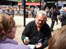 Terry Gilliam na premier de Toy Story 3 Foto de Stock