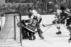 Terry O'Reilly and Tony Esposito. Royalty Free Stock Images