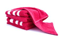 Terry towels Stock Photos