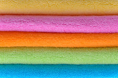 Terry towels Royalty Free Stock Image