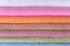 Terry towels Royalty Free Stock Images