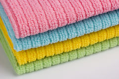 Terry towels Stock Photos