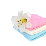 Terry towels Royalty Free Stock Photos