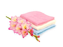Terry towels Royalty Free Stock Photo