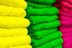Terry towels Royalty Free Stock Photography