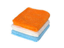 Terry towels Stock Images