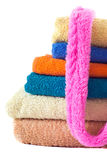 Terry Towels on white Royalty Free Stock Images