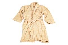 Terrycloth bathrobe Stock Photos