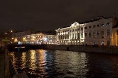Tersburg di Beloselsky-Belozersky palace.St.Pe, Russia Immagini Stock