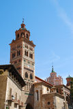 Teruel. View of the mudejar Cathedral of Teruel (Teruel - Spain Royalty Free Stock Photography