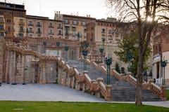Teruel, Aragon, Hiszpania Fotografia Stock