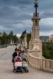 Teruel, Aragon, Spain. Teruel is a town in Aragon, located in eastern Spain, important for the Mudéjar Architecture Royalty Free Stock Photography