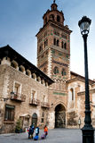 Teruel, Aragon, Spain. Teruel is a town in Aragon, located in eastern Spain, important for the Mudéjar Architecture, Cathedral Royalty Free Stock Photo