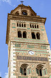Teruel, Cathedral tower Royalty Free Stock Images
