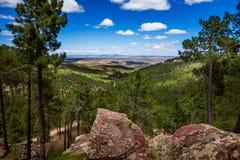 Teruel krajobraz, Hiszpania Obrazy Stock