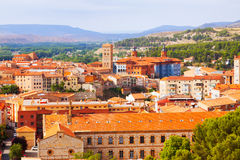 Teruel with  landmarks.  Aragon Stock Photos