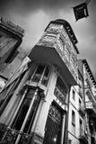 Teruel's Modernist. Modernist architecture in Teruel, Spain stock photography