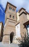 Teruel,  San Pedro Mudejar church Spain Royalty Free Stock Image