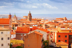 Teruel  in summer. Aragon Stock Photography
