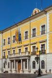 Teruel urząd miasta Zdjęcia Royalty Free