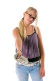 Terug naar Contant geld 4 van de School Stock Foto