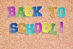 Terug naar school! Royalty-vrije Stock Foto