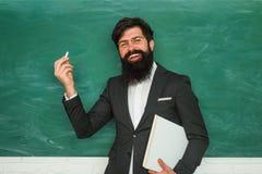 Terug naar school en gelukkige tijd Het academische succes is veel meer over het harde werk dan ingeboren talent Professor in kla stock afbeelding