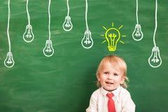 Terug naar School Het concept van het onderwijs royalty-vrije illustratie
