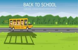 Terug naar School Vector illustratie Stock Fotografie