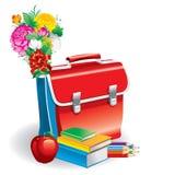 Terug naar school (vectorillustratie) stock illustratie