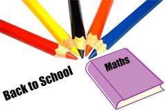 Terug naar schoolconcept Stock Foto's