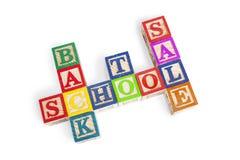 Terug naar schoolverkoop stock illustratie