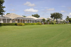 Terug van de huizen van Florida Stock Afbeelding