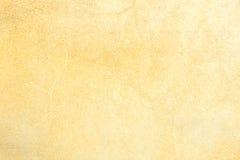 Terug van de textuur van het Leer die van koehuid wordt gemaakt Stock Fotografie