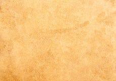 Terug van de textuur van het Leer die van koehuid wordt gemaakt Stock Afbeeldingen
