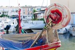 Terug van een vissersboot Royalty-vrije Stock Fotografie