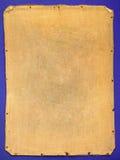 Terug van oud canvas Stock Foto's