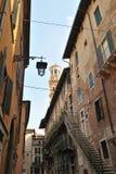 Terug van Palazzo Mazzanti, Verona, Italië, Europa Stock Afbeeldingen