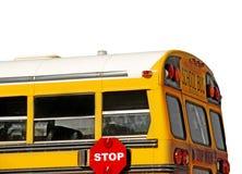 Terug van schoolbus Royalty-vrije Stock Foto