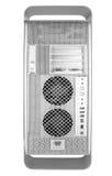 Terug van Zilveren Computer Royalty-vrije Stock Afbeeldingen
