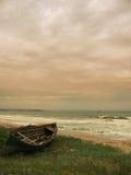 Teruggetrokken boot Royalty-vrije Stock Fotografie