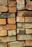 Teruggewonnen bakstenen Stock Afbeelding
