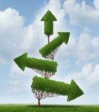 Terugwinning en Succes Stock Afbeelding